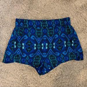 Express Patterned Shorts - Size S